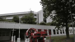 Entrauchungsversuch Verwaltungsgebäude mit Tiefgarage